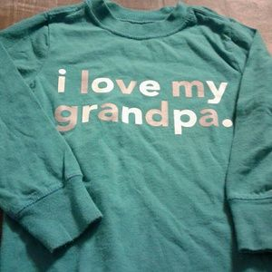 Love my grandpa shirt by Old Navy size 3t